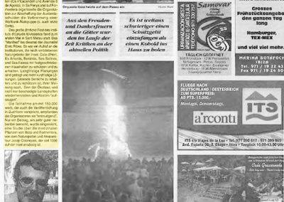 18-1 Josep Colonques - Artículo alemán 2 Diario de Ibiza - Premi Nit de St Joan (2000)