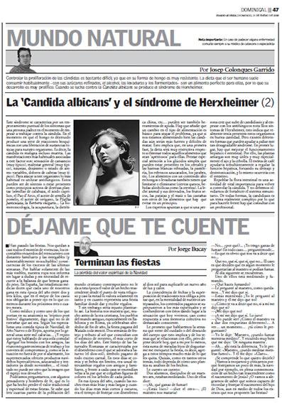 Josep Colonques Diario Ibiza candida albicans