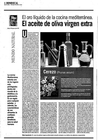 Josep Colonques Diario de Ibiza aceite oliva