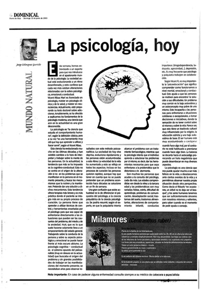 Josep Colonques psicología