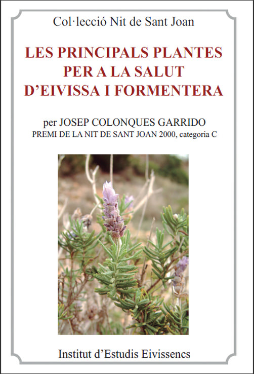 Tercer libro de Josep Colonques sobre las plantas de Ibiza (2013)