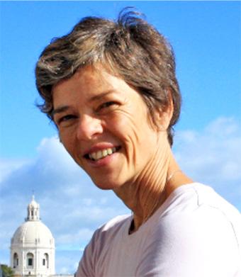 Imagen de Ana Lucia Favretto que es profesora de pilates ibiza en Eivissalut