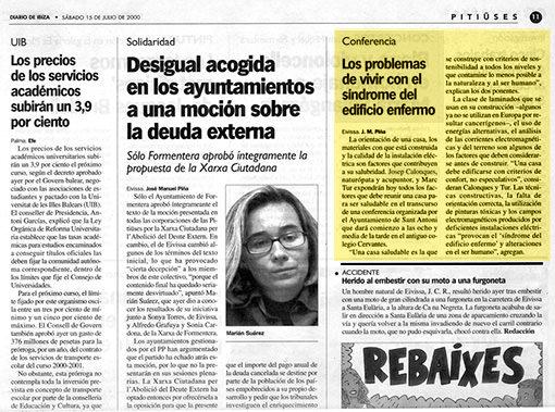 Josep Colonques Conferencia Vivir edificio enfermo